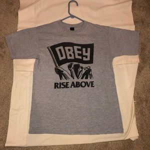 Obey rise above T-shirt ! Perfect condition! 🔥🔥
